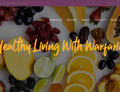 Healthy Living With Warfarin Website Launch